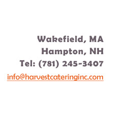 Contact Harvest Catering, Inc.